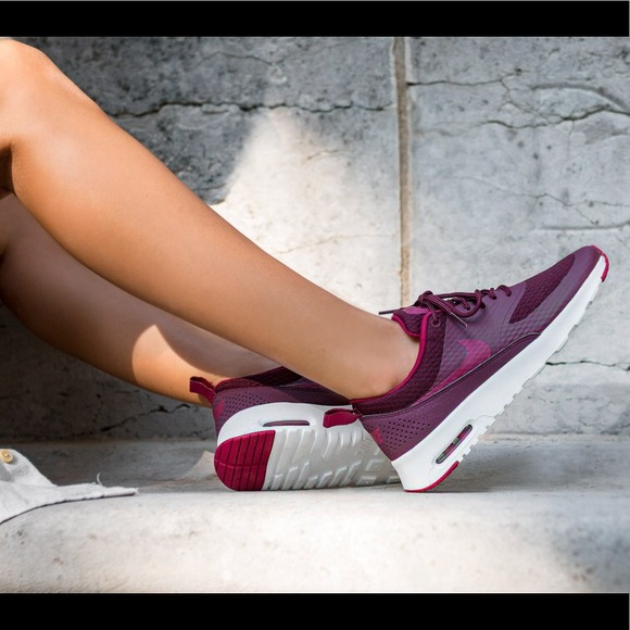 90a5ede086 Nike Air Max Thea Night Maroon / Noble Red Mint! M_5bae26bec9bf507e8425d29b